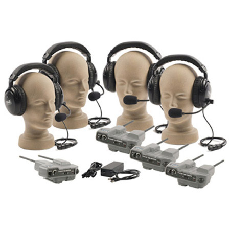 Anchor Pro-540 Pro-Link 500 4 Single Headset Wireless Intercom System