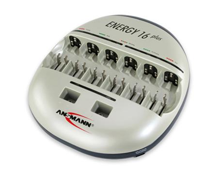 Ansmann 1001-0004 Energy 16 Plus Rapid Charger