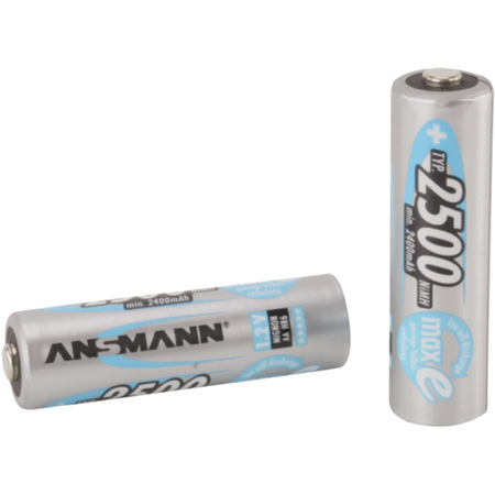 Ansmann 5035442 Mignon Plus Rechargeable Batteries 2100mAh - Pack of 4