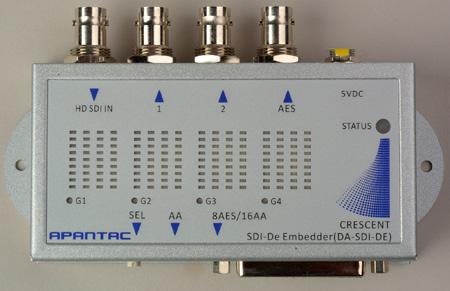 Apantac DA-SDI-DE SDI Audio De-embedder