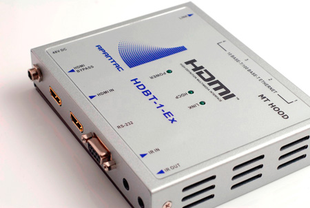 Apantac HDBT-1-E HDMI Extender over CAT 5e/6 up to 100 Meters at 1920x1080p
