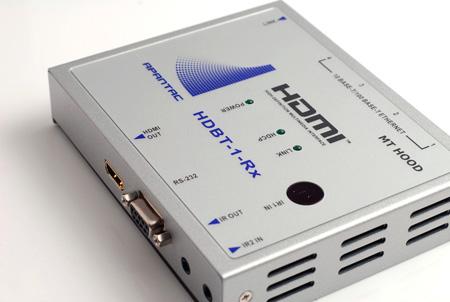 Apantac HDBT-1-Rx HDMI Receiver with RS232; IR; Ethernet Hub & POE over CAT 5e/6