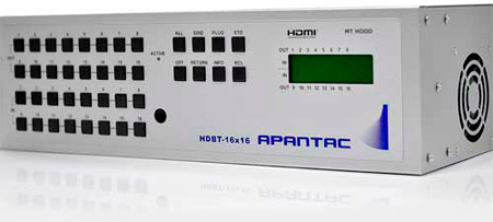 Apantac HDMI-16x16 HDMI 16x16 Matrix with IR; RS232 & IP Control