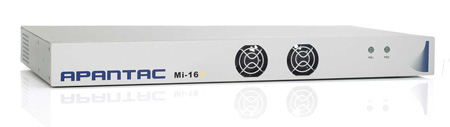 Apantac MI-16-SHARP 16x2 Multiviewer - 16 SD/HD-SDI/3G Video Inputs with Passive Loop Outs