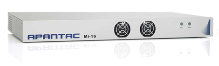 Apantac MI-16 16x1 Multiviewer - 16 SD/HD-SDI/3G Video Inputs with Passive Loop-Outs