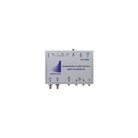 Apantac SDI-CVBS-S 3G/HD/SD-SDI to CVBS Converter with Scaler
