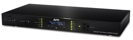APC G50NETB-20A2 APC AV Network Manageable 20 Amp G Type Rack Power Filter-120V