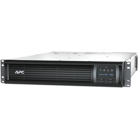 APC SMT3000RM2U Smart-UPS 3000VA RM 2U LCD 120V with SmartConnect