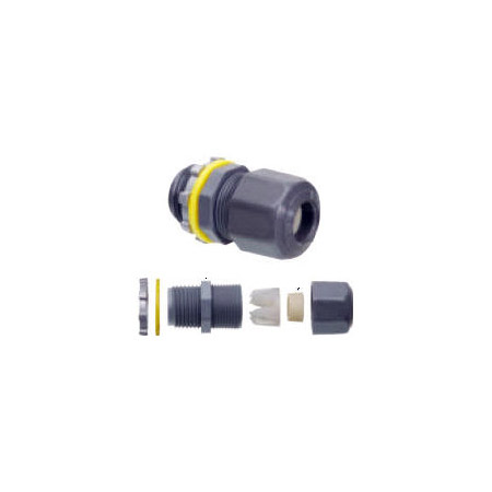 Arlington LPCG507 1/2 In. Liquid Tight Strain Relief - Plastic