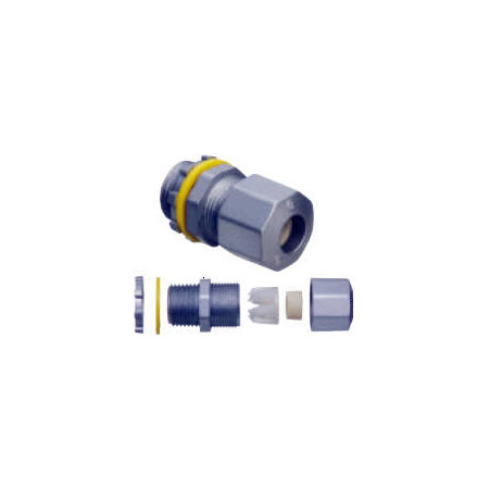 Arlington LPCG507Z 1/2 Inch Liquid Tight Strain Relief Connectors Diecast