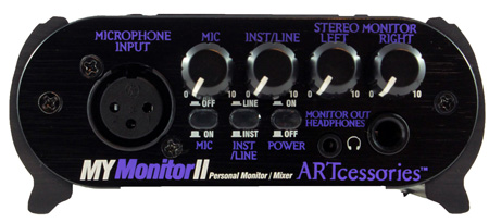 ART MyMonitorII Personal Monitor Mixer