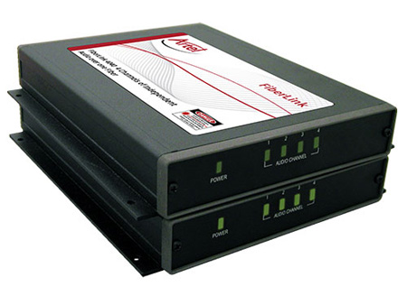 Artel FiberLink 4041-B9S 4 Channel Analog Audio Line Level 1550nm Singlemode 1 Fiber Receiver