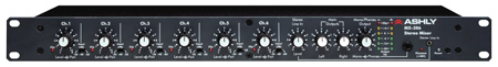 Ashly 6 Input Stereo Mic Mixer