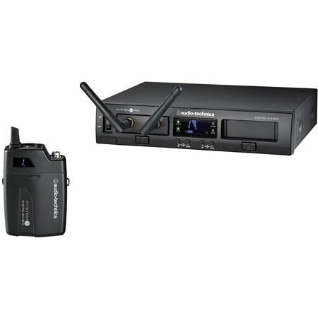 Audio Technica ATW-1301 Rackmount Digital Wireless System with Bodypack Transmitter and Receiver