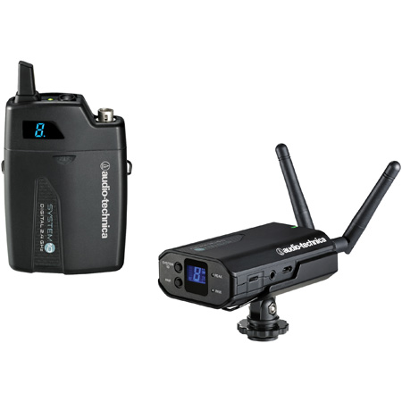 Audio-Technica ATW-1701 Camera-Mount Receiver - ATW-T1001 UniPak Transmitter
