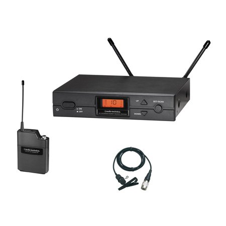 Audio Technica ATW-2129aD 2000 Series Wireless Lavalier Band D - 656.125-678.500 MHz