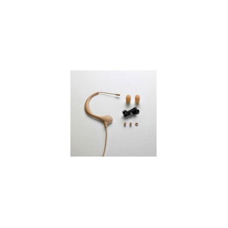 Audio-Technica BP893c-TH MicroEarset Omni Condenser Headworn Mic - UNTERMINATED- Beige