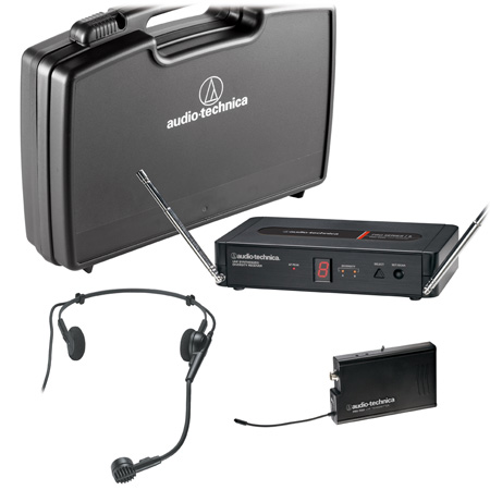 Audio-Technica PRO-501/H PRO Series 5 Wireless System with PRO-R500 Rx / PRO-T501 Tx / PRO 8HEcW Mic