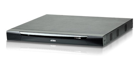 ATEN KN2116VA 2 Remote & 1 Local Simultaneous Users - 16 Port Cat5E HD IP KVM with Virtual Media and Dual Power Supply
