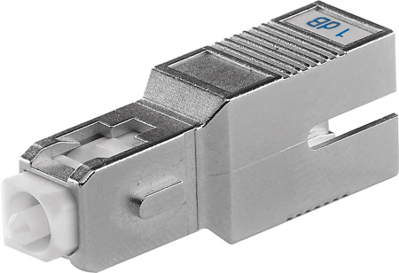 Senko ATN-632-08-1 8dB SC Fiber Attenuator - UPC Return Loss 55dB or Greater