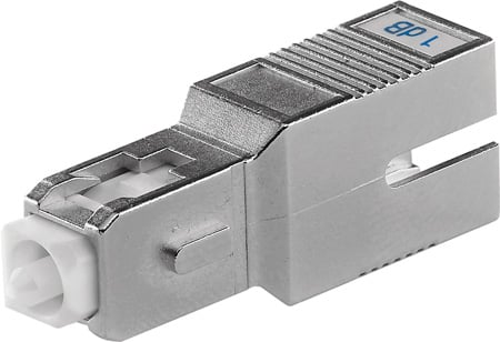 Senko ATN-632-20-1 20dB SC Fiber Attenuator - UPC Return Loss 55dB or Greater