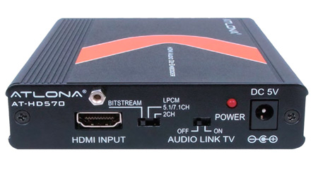 Atlona AT-HD570 HDMI 1.3 Audio De-Embedder with 3D Support