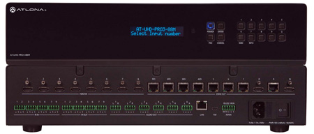 Atlona AT-UHD-PRO3-88M 4K/UHD Dual-Distance 8x8 HDMI to HDBaseT Matrix Switcher with PoE