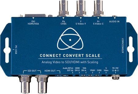 Atomos Connect Convert Scale - Analog Video to SDI/HDMI with Scaling