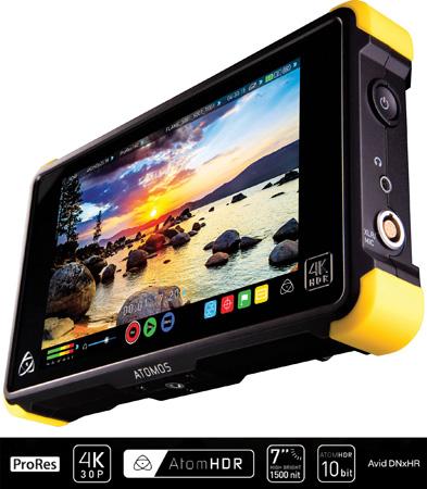 Atomos ATOMSHGFL2 Shogun Flame AtomHDR 4K Recorder/Player/Monitor/Editor