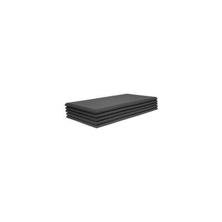 Auralex 15SFP24CHA Studiofoam Pro- 1.5in Thick Accoustical Foam- 24 x 24in 10pk