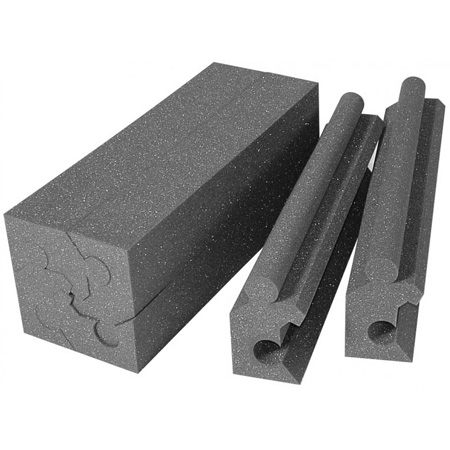 90-degree Corner Couplers for Auralex Max-Wall Panels (Burgundy)