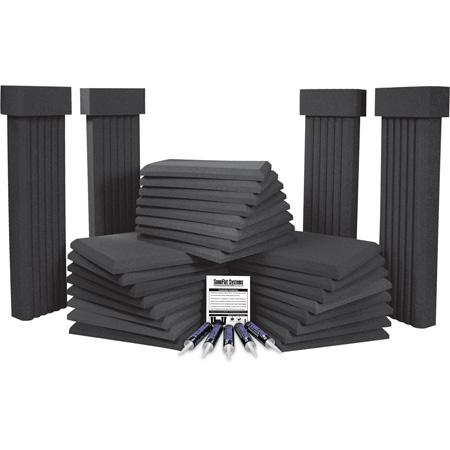 Auralex - SonoFlat Systems - SFS184 (Burgundy)