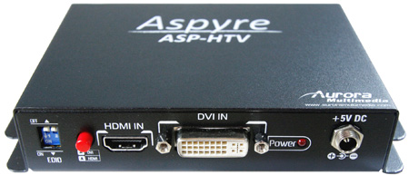 Aurora ASP-HTV HDMI/DVI to VGA/Component and Audio Converter