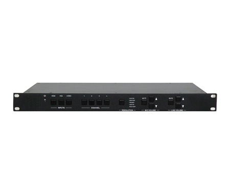 Aurora Multimedia ASP-S123V Presentation Switcher / Scaler with HDBaseT & CAT Rx