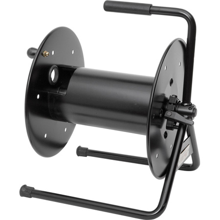 Hannay Reels AVC-20-14-16-DE Cable Reel Black with Drum Extension