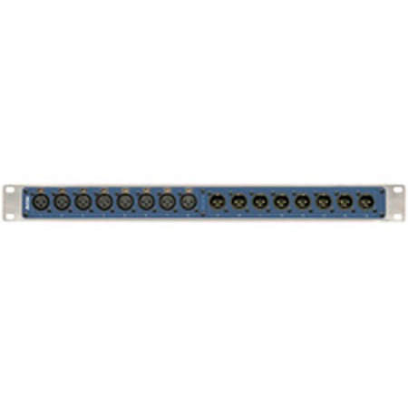 Aviom PB28 Blank Patch Bay Front Panel - B Stock