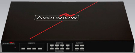 Avenview HDM-SWITCHPRO-VW4 4X4 HDMI Matrix Switcher w/Videowall Function & Audio