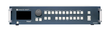 Analog Way Pulse2-3G Hi-Resolution Mixer Seamless Switcher with 8 inputs and Native Matrix Mode