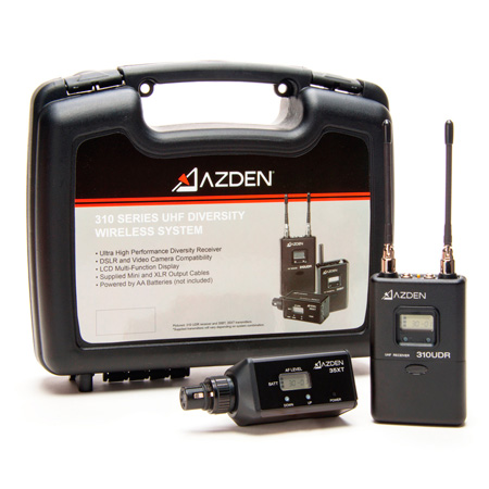 Azden 310XT On-Camera Wireless Receiver & Plug-in Transmitter