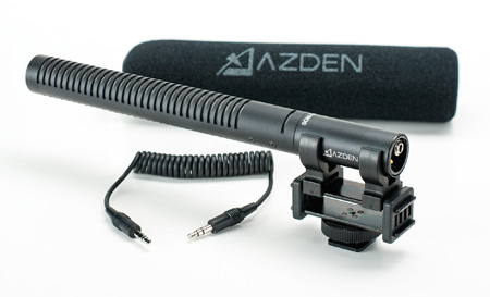 Azden SGM-DSLR On Camera Shotgun Microphone