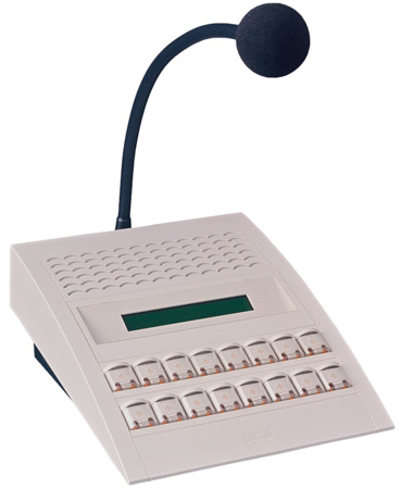 Barix PS16 Professional IP Paging and Intercom Master Station