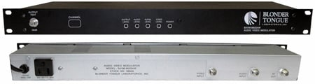 Blonder Tongue BAVM-860SAW Channel 43 Audio/Video Modulator Saw Filtered