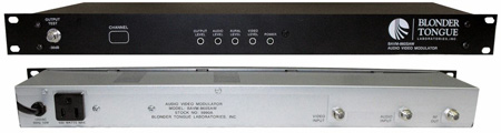 Blonder Tongue BAVM-860SAW Audio/Video Modulator Saw Filtered Channel 84