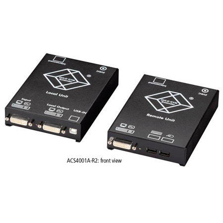 Black Box ACS4001A-R2 ServSwitch Single DVI CATx KVM Extender USB