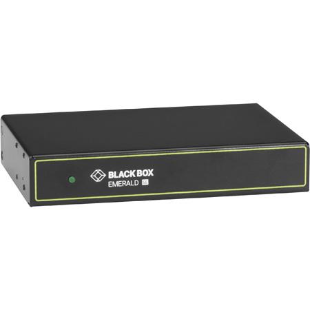 Black Box EMD2000SE-T Emerald Se HD DVI KVM-over-IP Matrix Switch Transmitter - Full HD DVI USB 2.0 Serial Audio