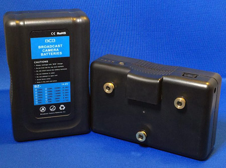 Broadcast Camera Batteries BZ-130AL Gold-mount Battery (Li-ion)