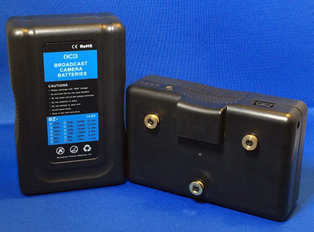 Broadcast Camera Batteries BZ-160AL Gold-mount Battery (Li-ion)