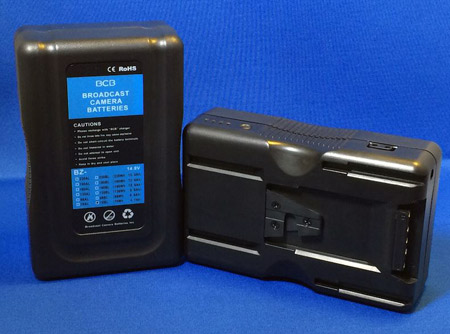 Broadcast Camera Batteries BZ-190BL V-mount Battery (Li-ion)