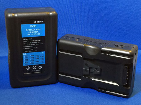 Broadcast Camera Batteries BZ-70BL V-mount Battery (Li-ion)