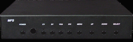 Broadata MFS-DVI DVI- S/V Composite Scaler Switcher